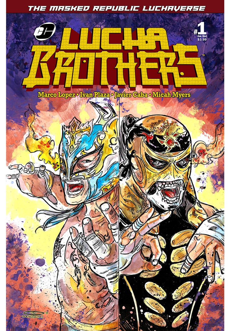 Image of Masked Republic Luchaverse: Lucha Brothers #1 One-Shot - Portaveritas Var (Ltd. 350)
