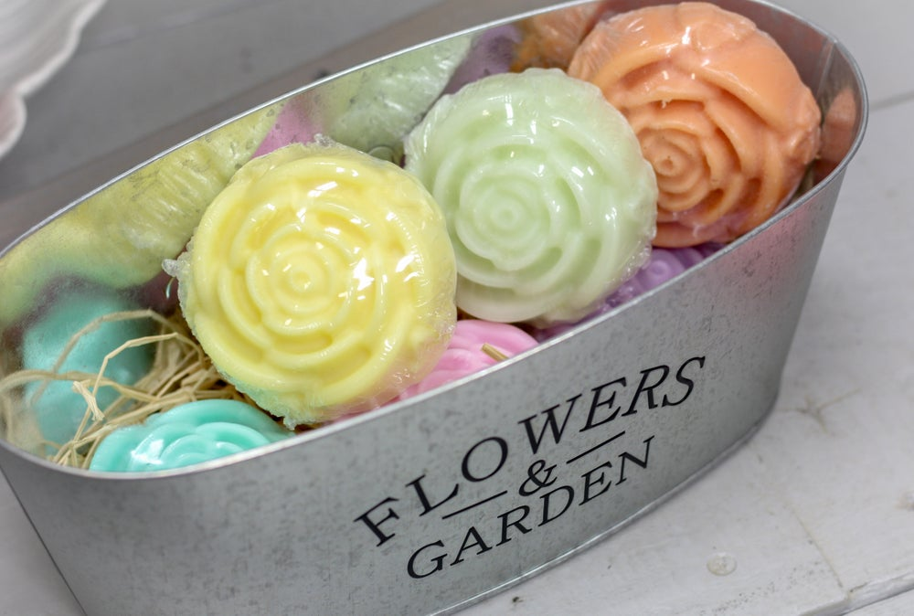 Image of Large Flower Soaps