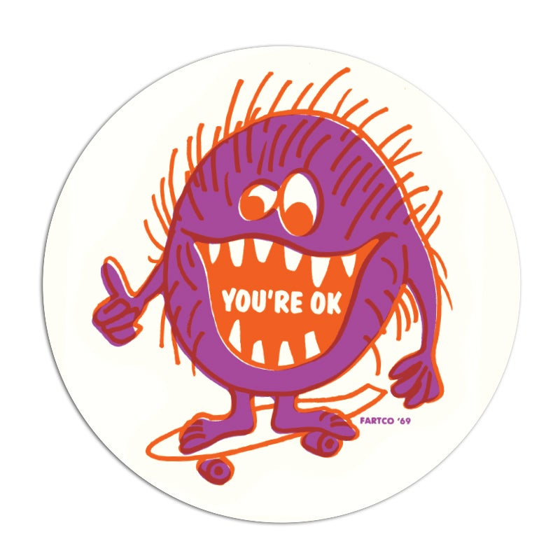 Image of You're OK Sticker