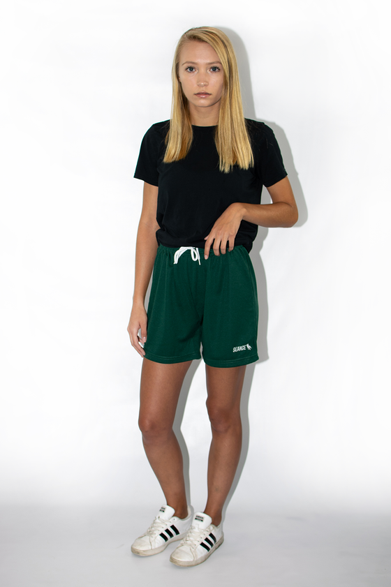 Image of Drawstring Logo Shorts