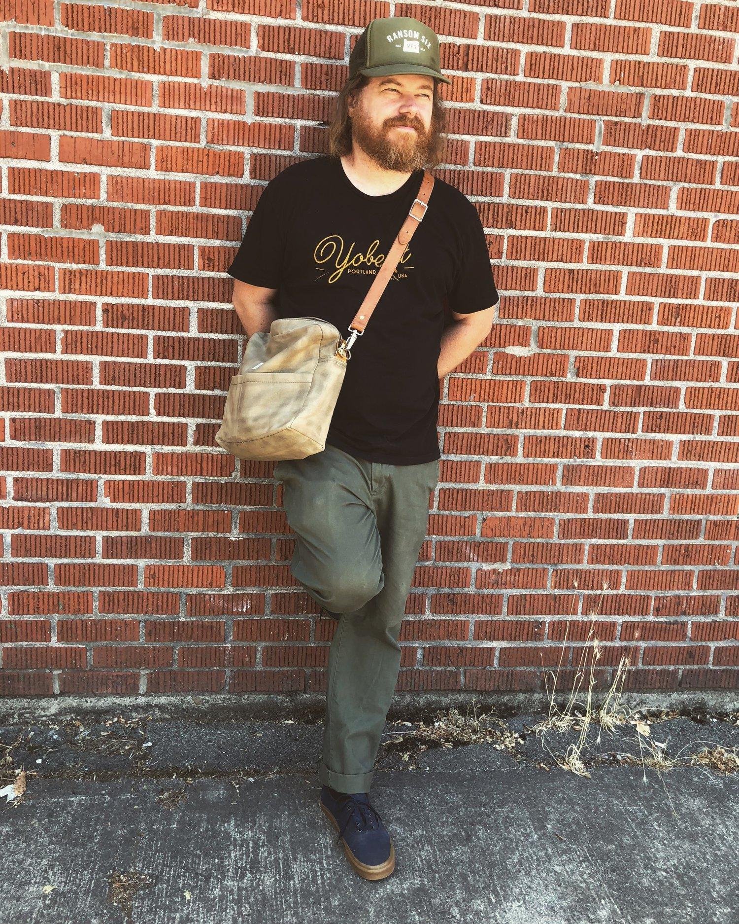 Image of Waxed Canvas Explorer Shoulder Bag