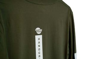 Image of Malibu Unisex Long - Sleeve Shirt - Army Green