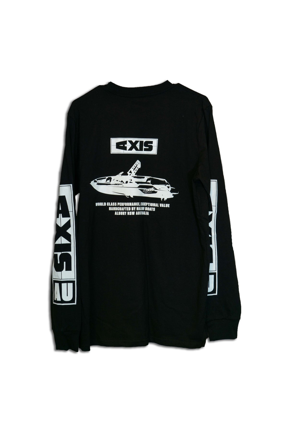 Image of AXIS Unisex Long - Sleeve Shirt - Black