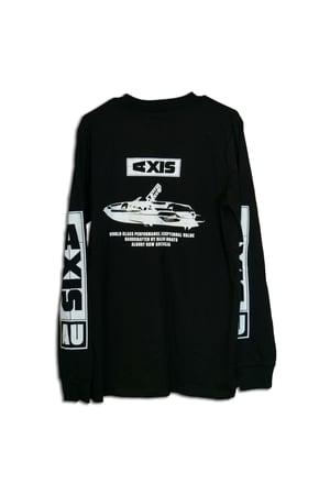 Image of AXIS Unisex Long - Sleeve Shirt - Black
