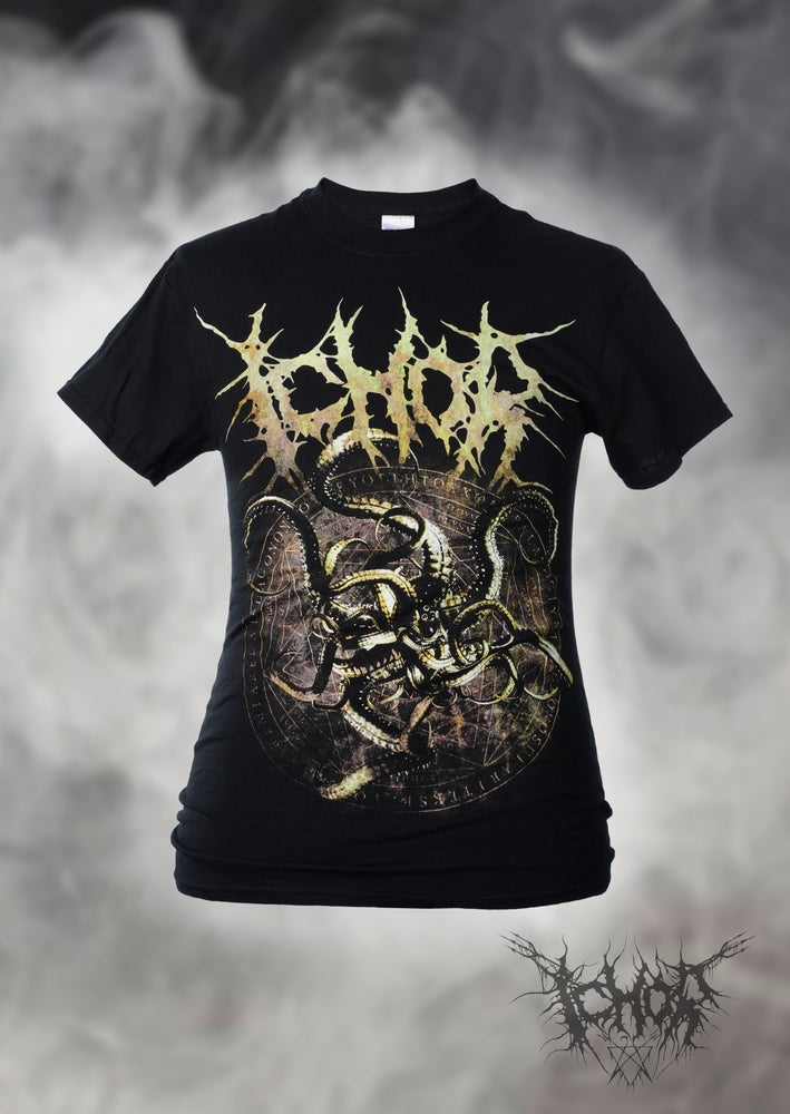 "Image of Ichor - Shirt ""Golden Kraken"""