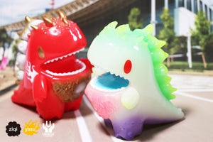 Image of Ziqi X Unbox X Mononoke Dino Red ver.
