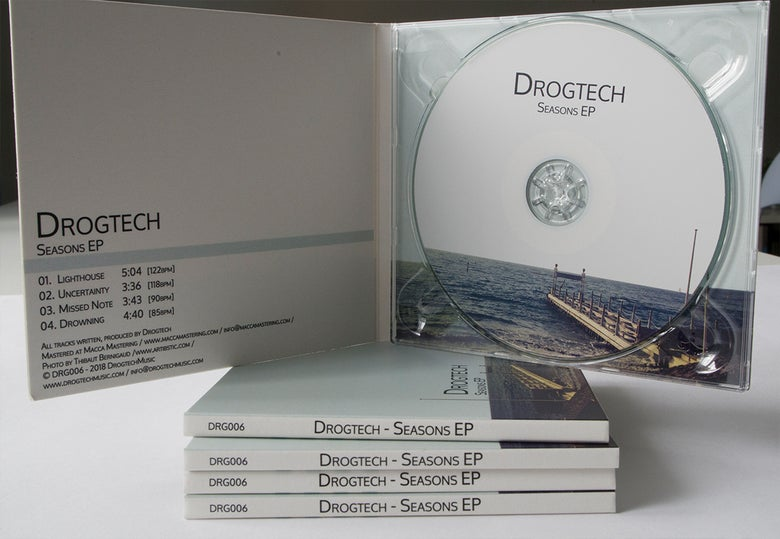 Image of Drogtech - Seasons EP CD Digipack + Free GIFTS!