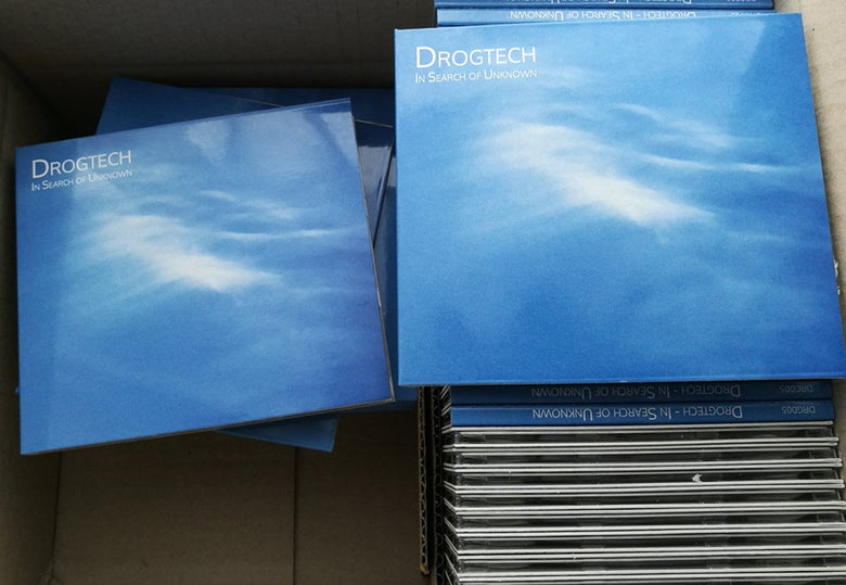 Image of Drogtech - In Search of Unknown CD Digipack