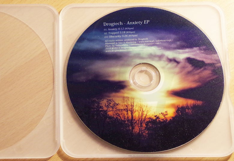 Image of Drogtech - Anxiety EP CD E-box