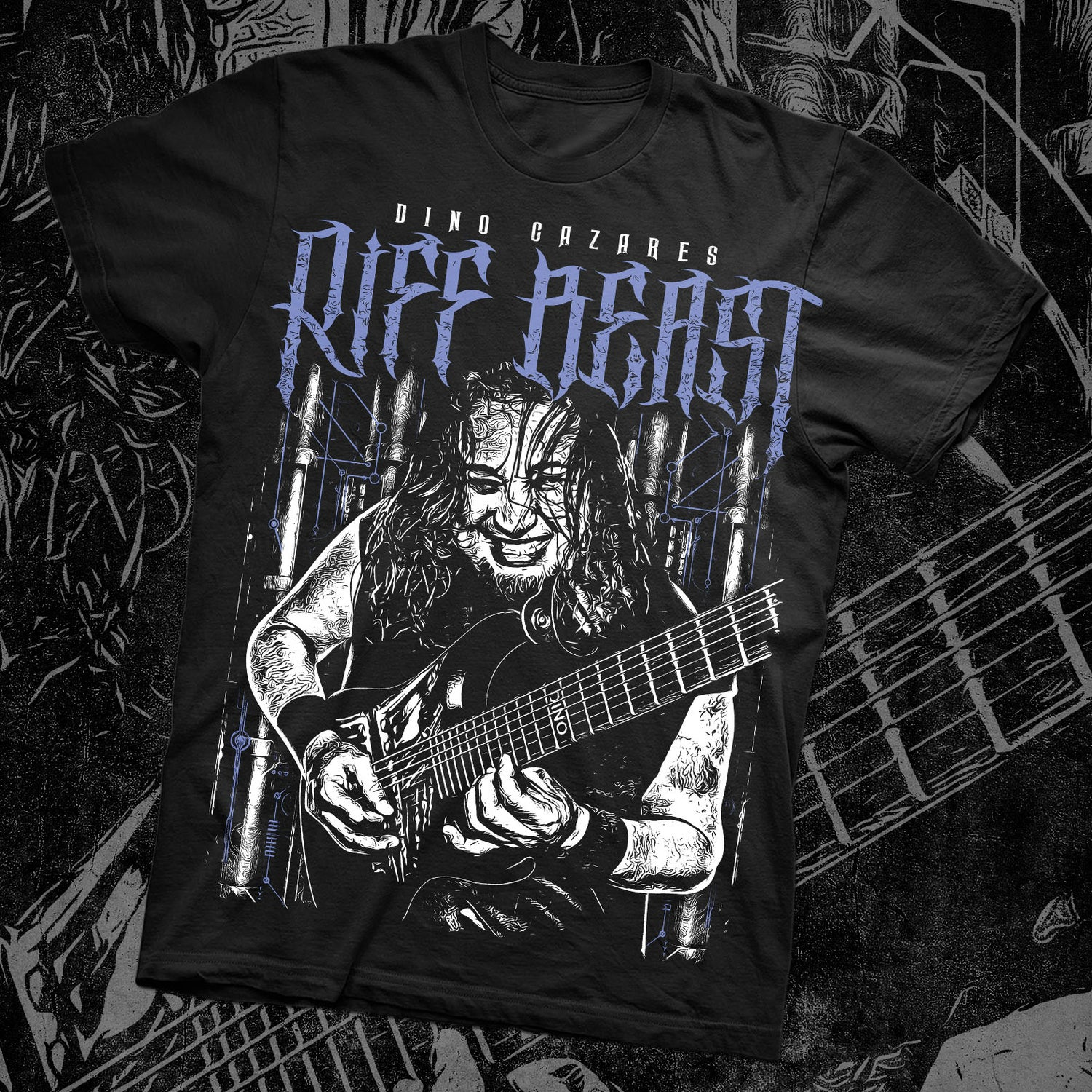 Image of DINO RIFF BEAST SHIRT NEW