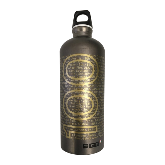 Image of Limited edition Gee Atherton 100 World Cup Start bottle by SIGG