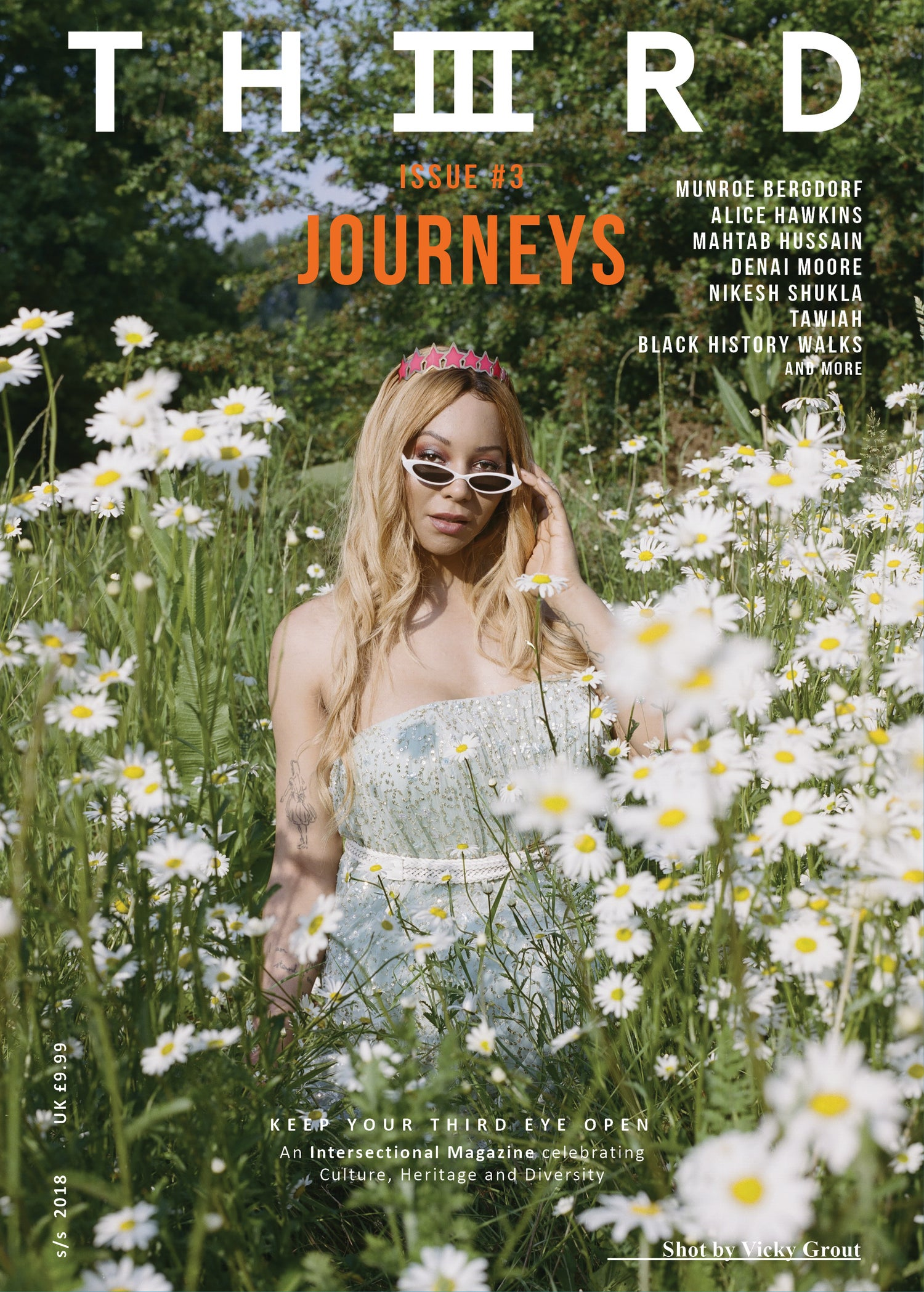 Image of THIIIRD Issue #3: JOURNEYS Munroe Cover