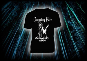 Image of Conjuring Fate - Backwoods Witch t-shirt