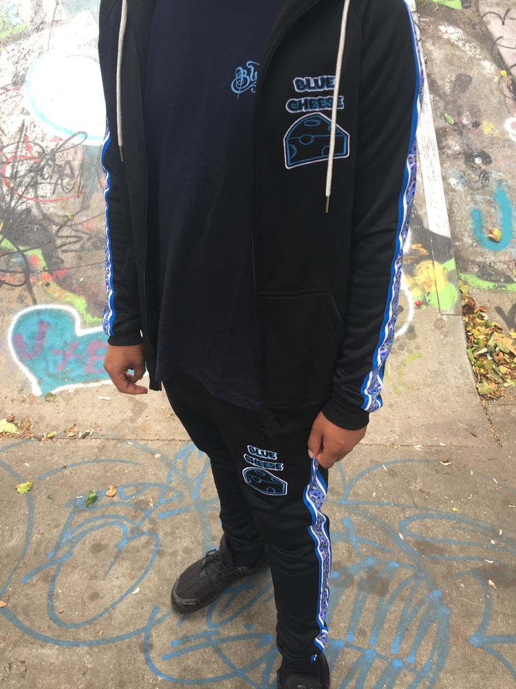 Image of New BlueCheese fitted Jumble Tracksuit