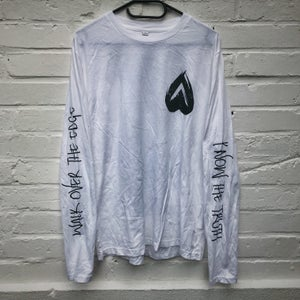 "Image of ""Know The Truth"" Longsleeve (white)"