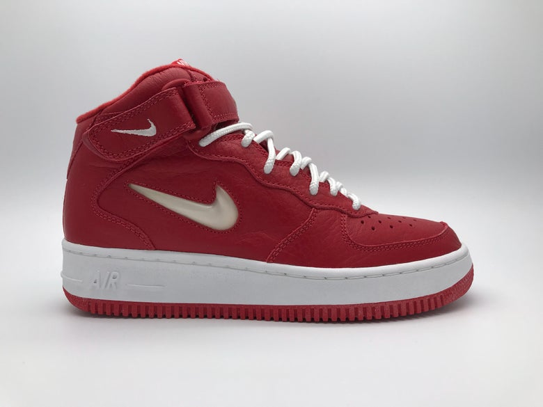 "a431ae084a Image of NIKE AIR FORCE 1 MID SC ""VARSITY RED JEWEL"""