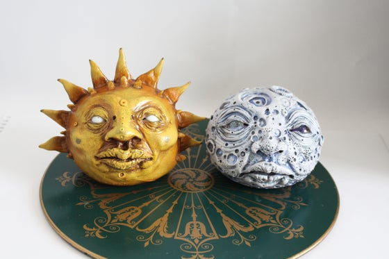Image of Sun & Moon Sculpture- combo
