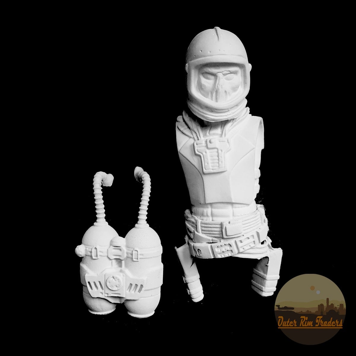 Image of Skeleton Astronaut