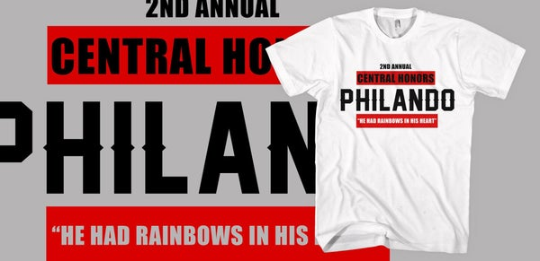 Image of 2017 Central Honors Philando T-Shirt