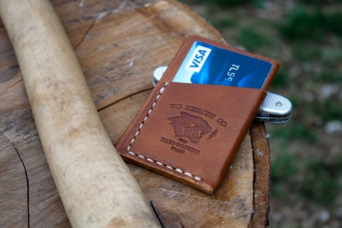 "Image of El Primero — ""Antique Saddle"" Italian Cowhide Leather Wallet"