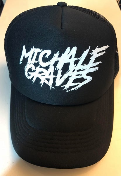 Image of Michale Graves Black Truckers Hat
