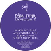"Image of DâM-Funk ""Architecture II"" 12"" Vinyl EP (European Import)"