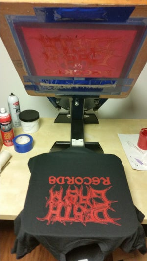 "Image of DEATHGASM RECORDS ""Logo"" T-SHIRT"