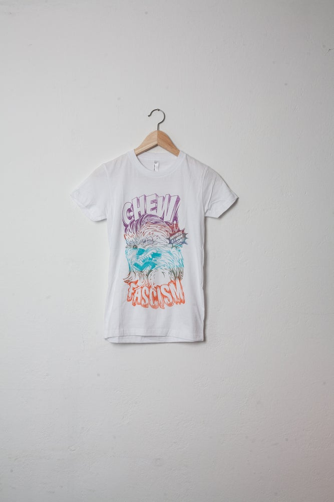 Image of YOUTH S T-Shirt CHEW FASCISM White Coloursplash