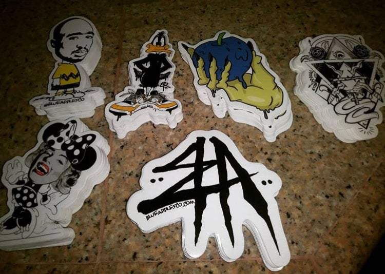 Image of 6 Sticker Slap Pack
