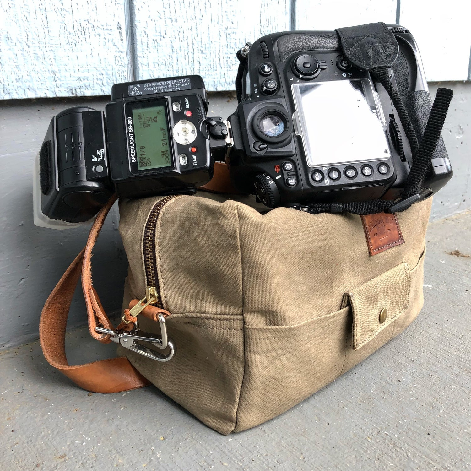 Image of Camera Bag with Padded Insert