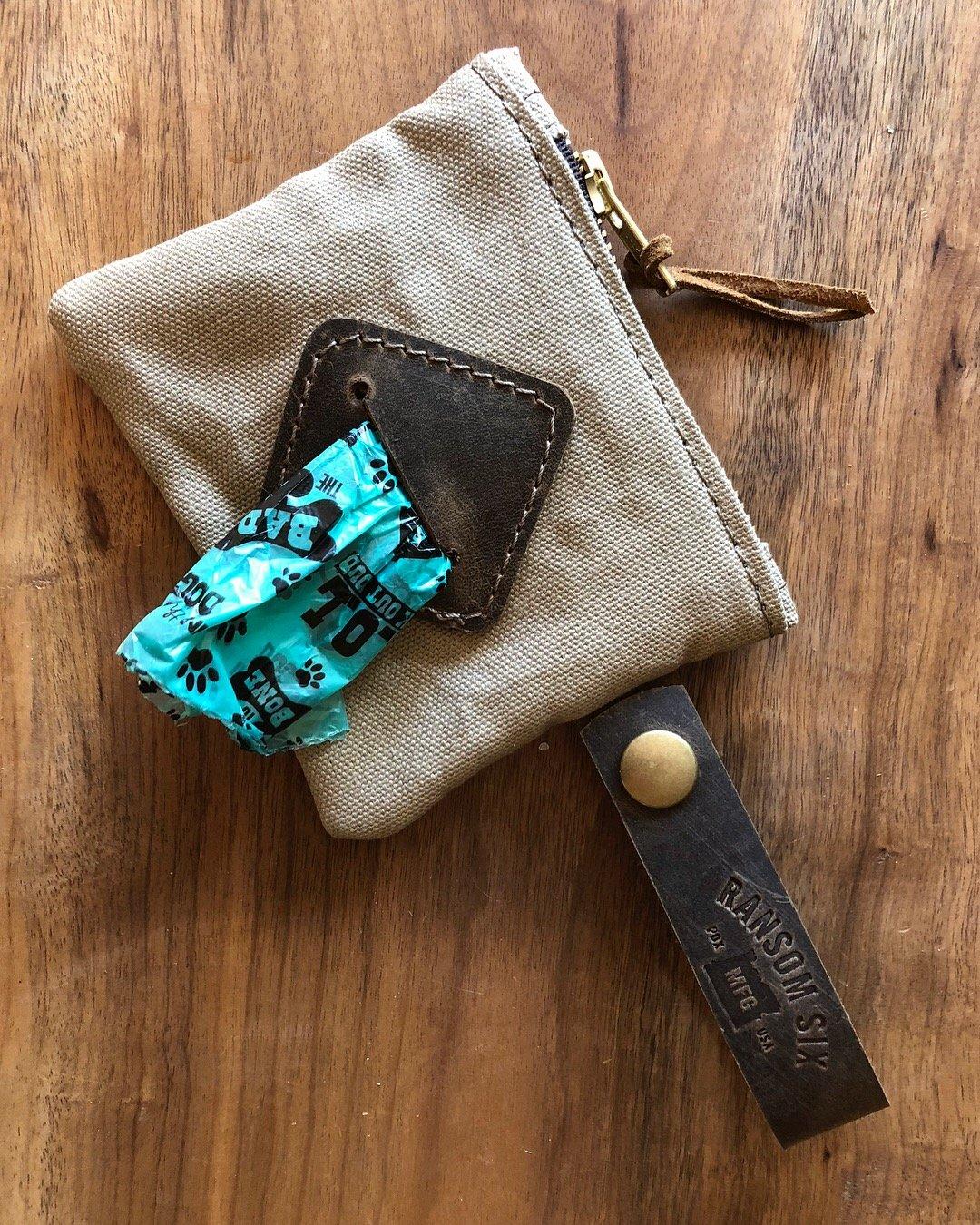 Image of Dog Poop Bag Roll Holder