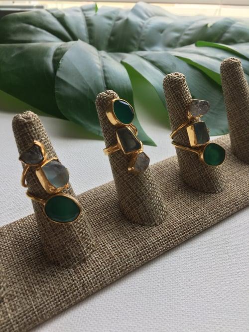 Image of MANDJANI LITE • Crystal Rings