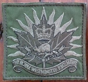 Image of Official Westie Cap Badge Tactical patch.