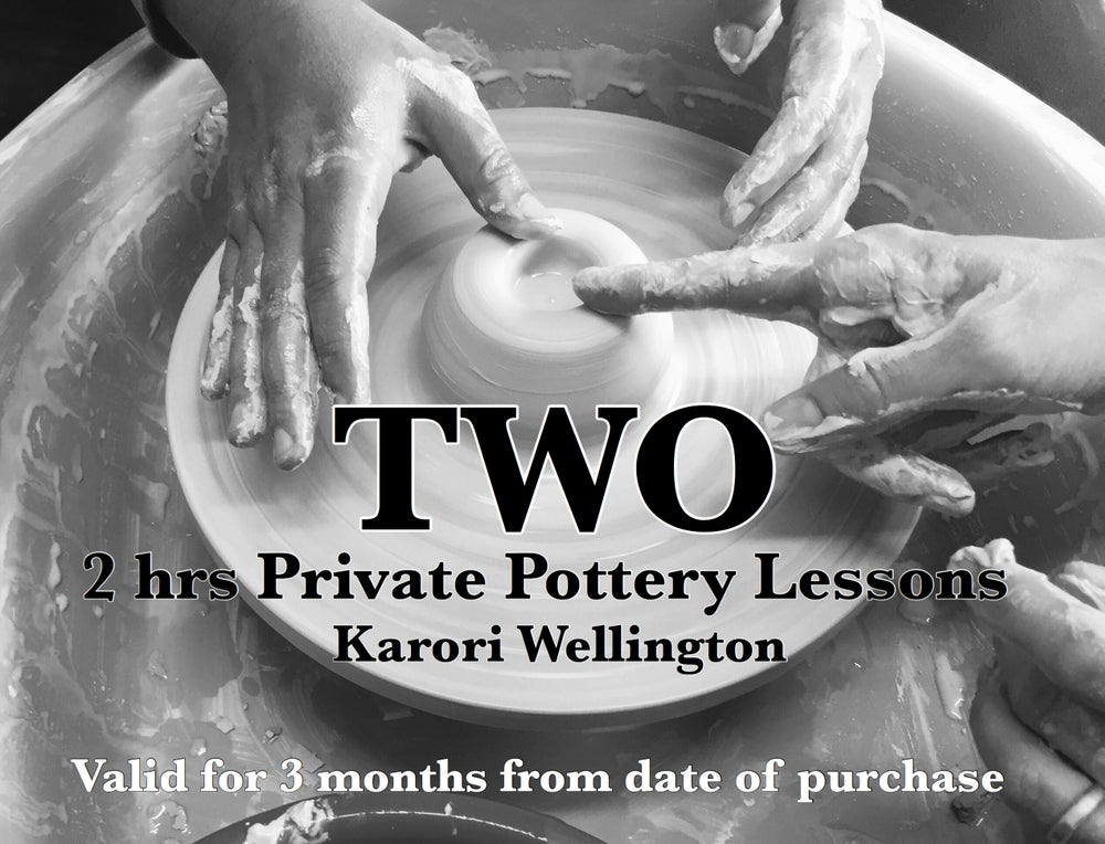 Image of TWO PRIVATE POTTERY LESSONS