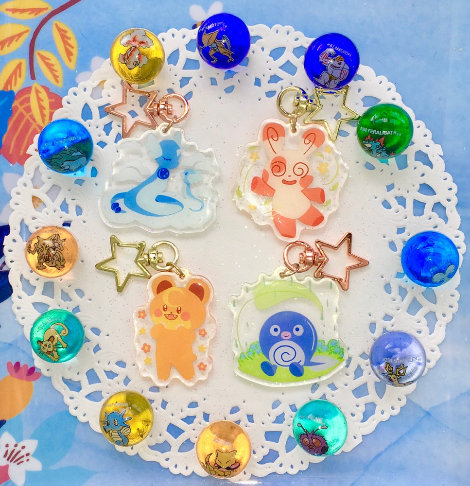 Image of Baby Pokemon Charms!