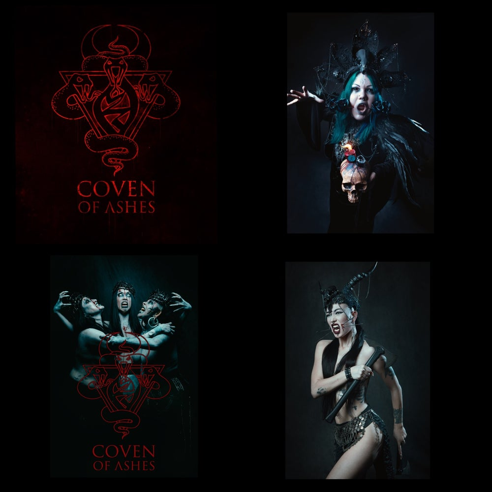 Image of Coven of Ashes Stickers