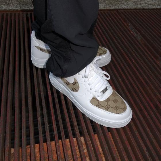Image of Nike AF1 Gucci Custom PLUS