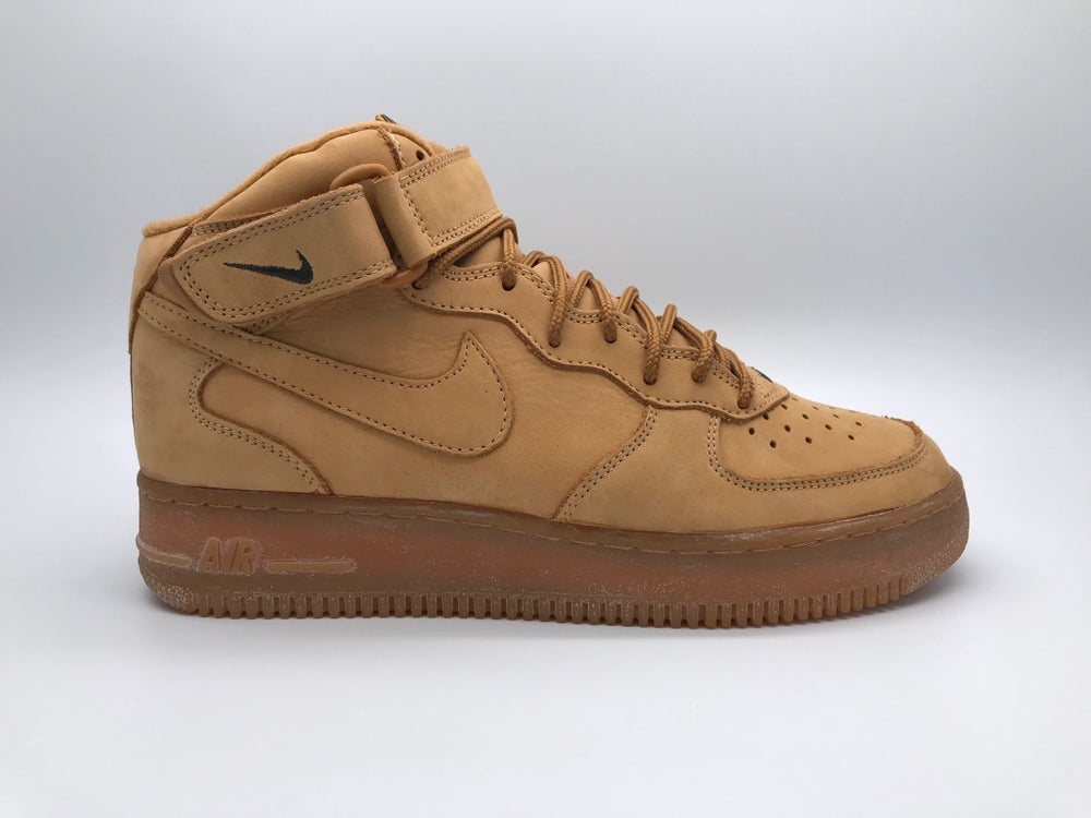 "super popular e317e 1de7f NIKE AIR FORCE 1 MID ""OG FLAX"""