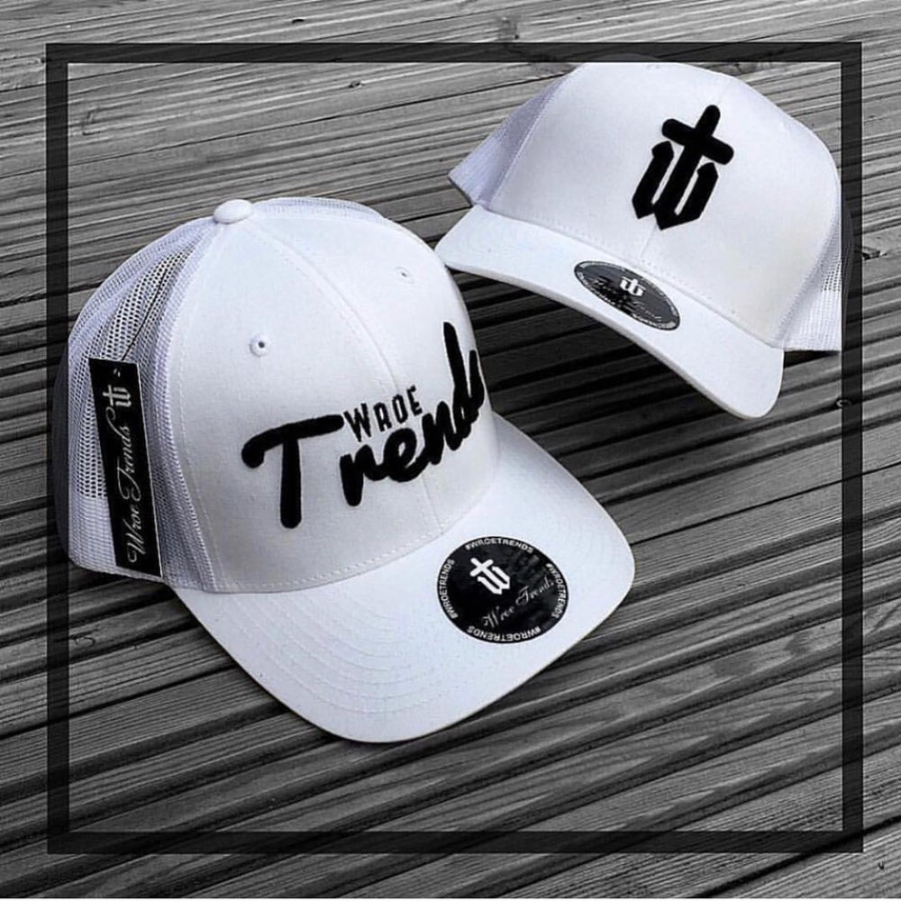 Image of TRUCKER • WHITE