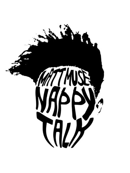 Image of 'Nappy Talk' Sticker