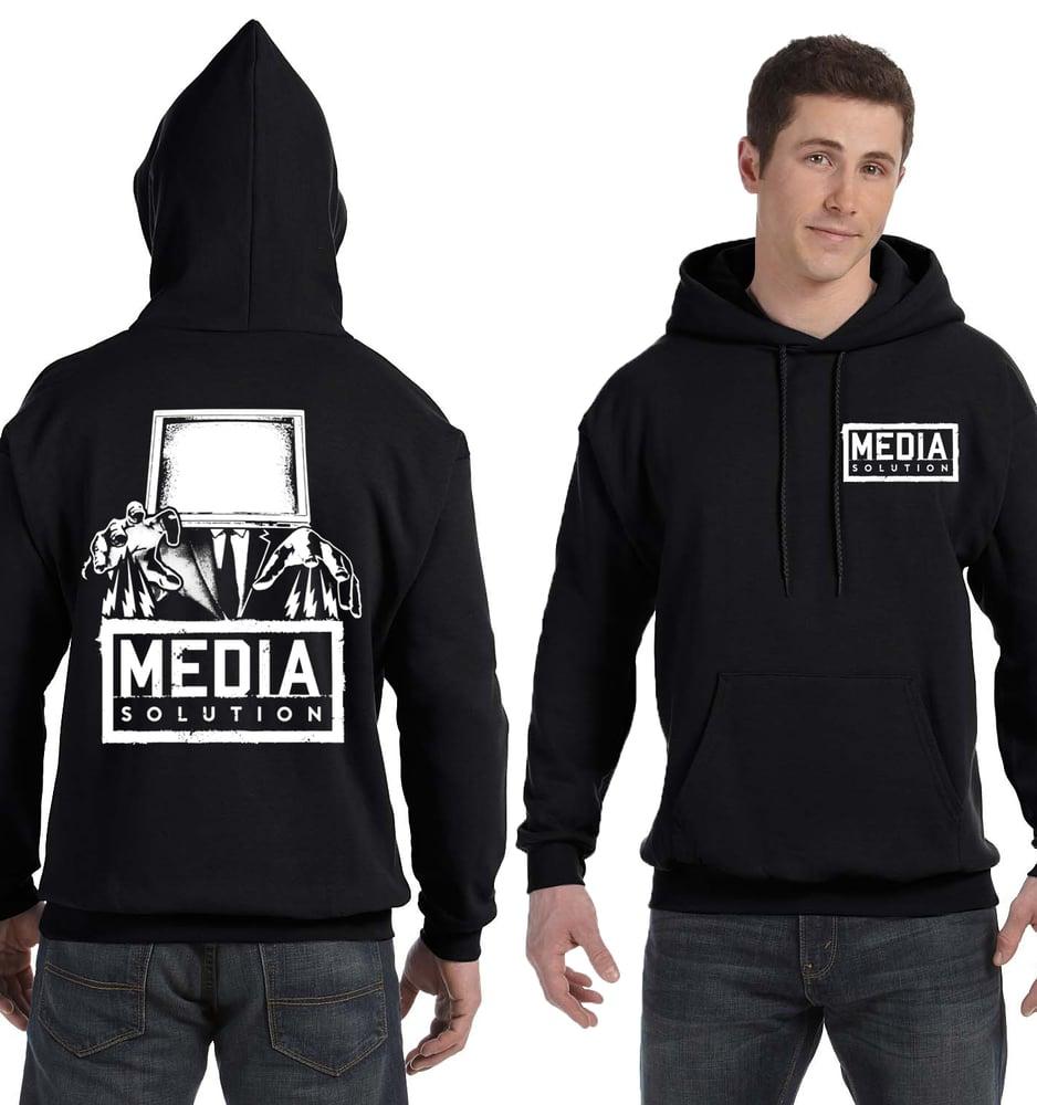 Image of Media Solution - GOD hoodie (no zip)
