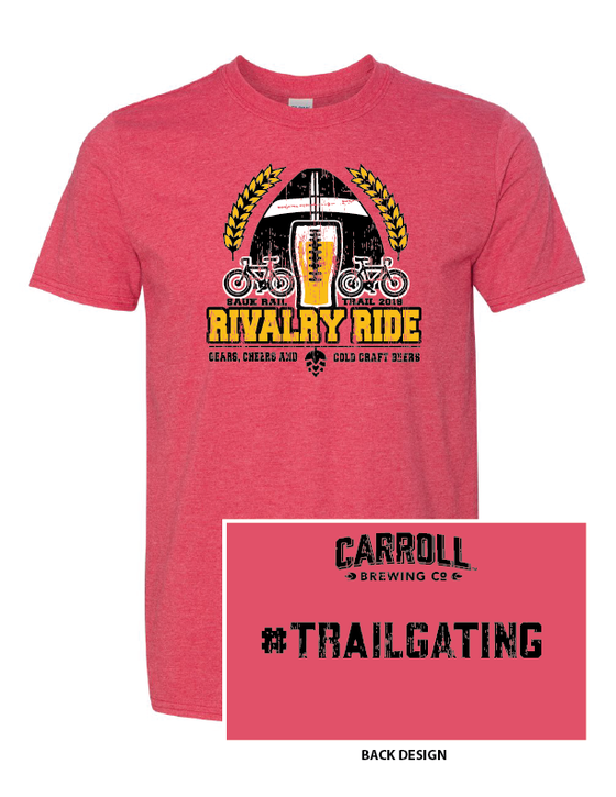 Image of Vintage Red Rivalry Ride Shirt