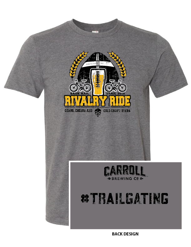 Image of Vintage Charcoal Rivalry Ride Shirt