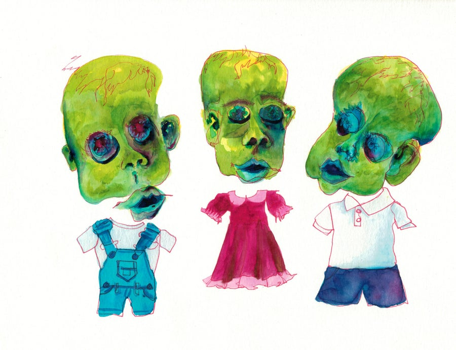 Image of Pickle Children (Print)