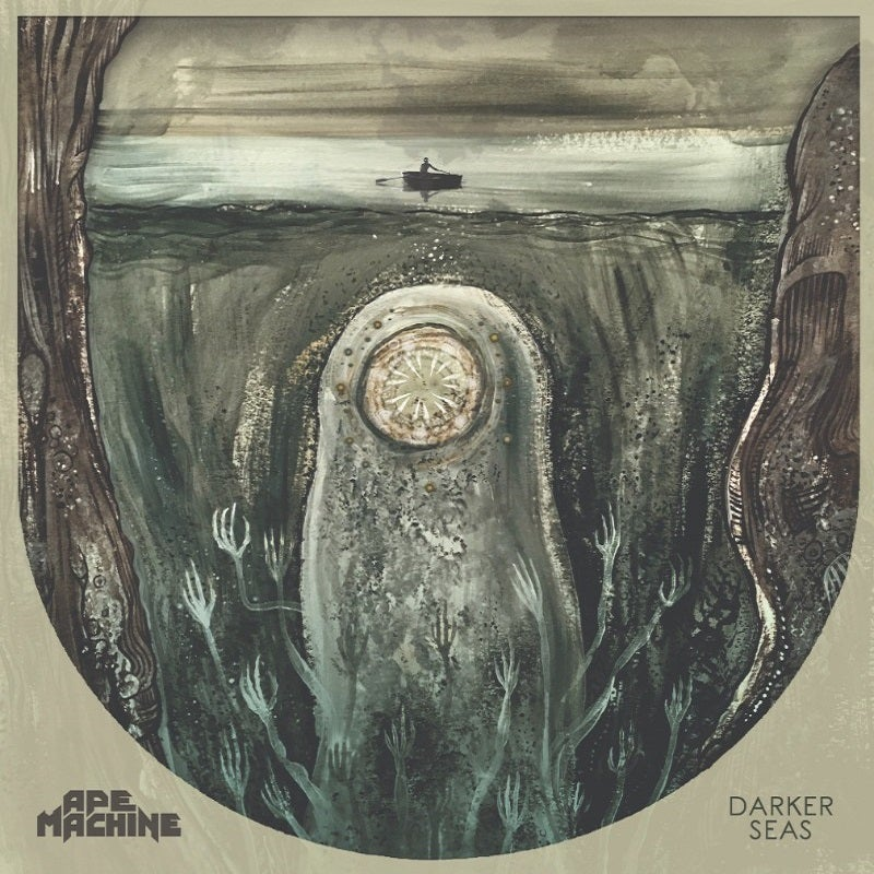 Image of Ape Machine - Darker Seas CD