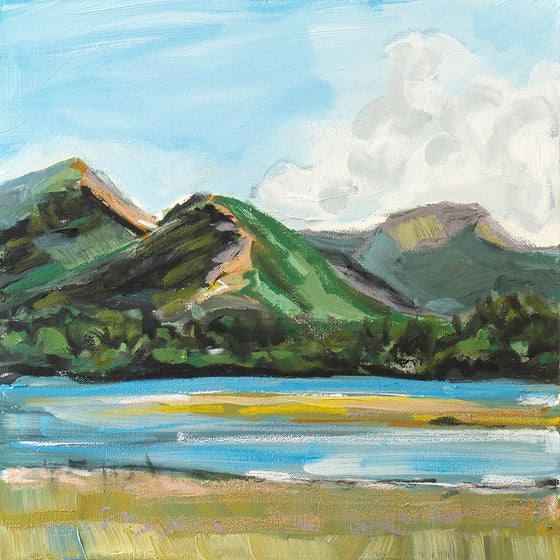 Image of Catbells (Original Painting)
