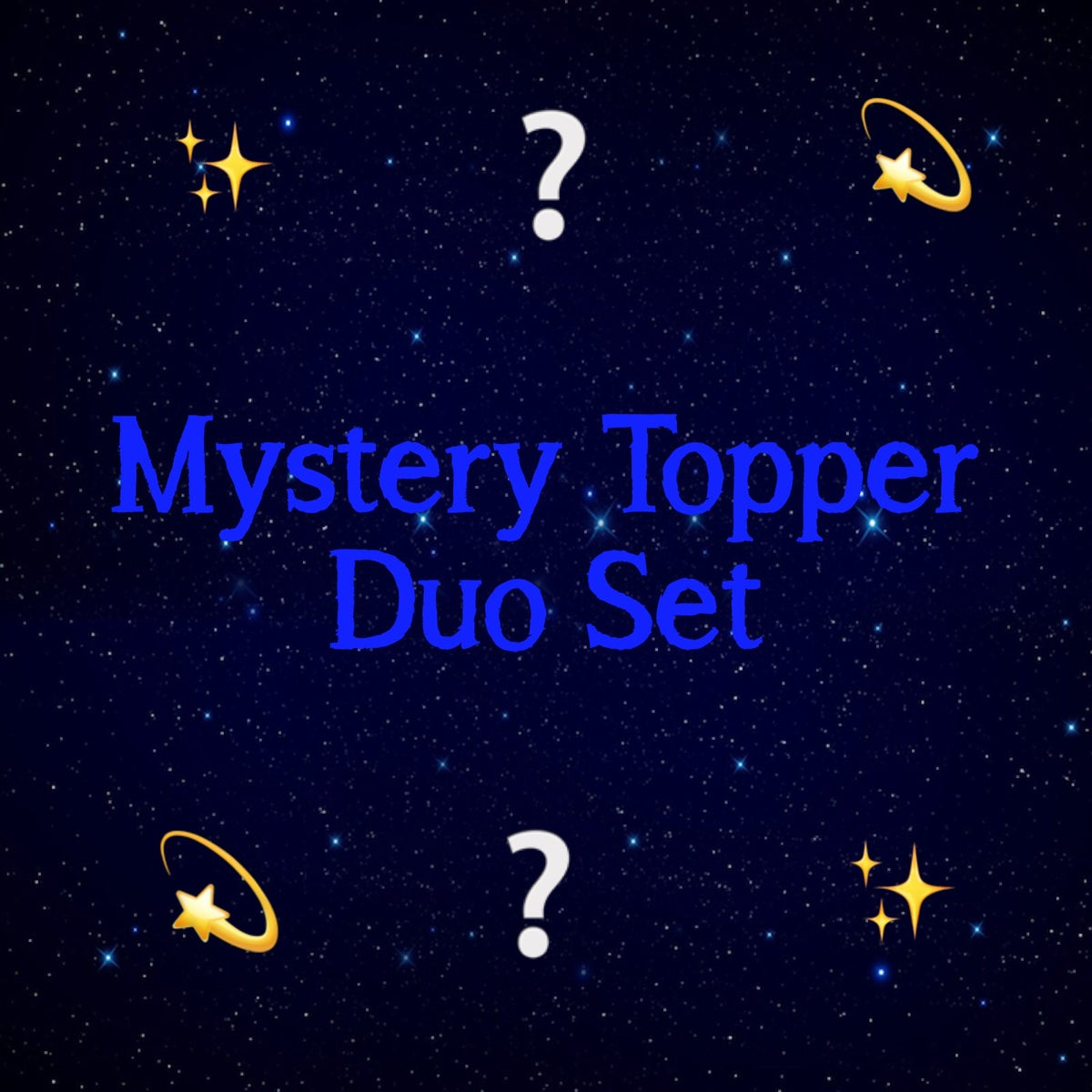 Image of Mystery Topper Duo Set