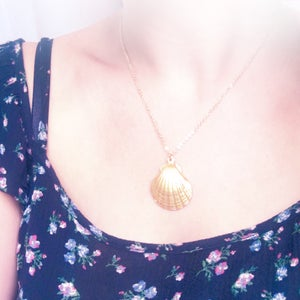 Image of Ariel Shell Necklace - 2 lengths available