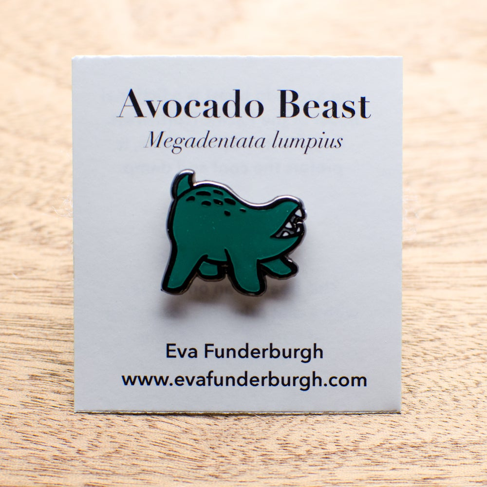Image of Avocado Beast Pin