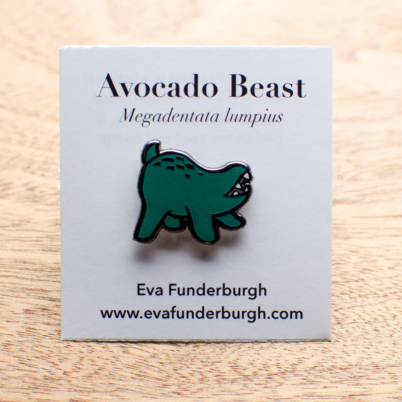 Image of Avocado Beast Pin